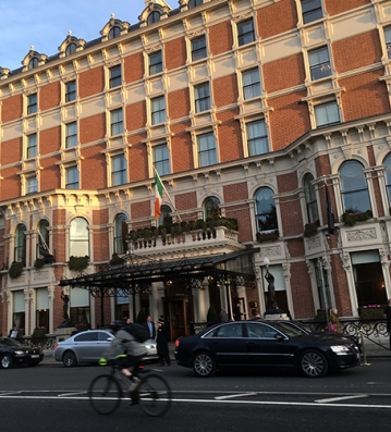 The Shelbourne Hotel in Dublin